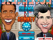 Obama Vs Romney Slaphaton