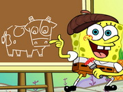 Spongebob Draws Something