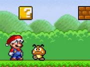 لعبة ماريو وانقاذ سانتا